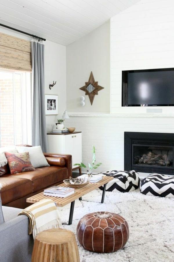 Wohnzimmer dekorationen für eine gemütliche atmosphäre