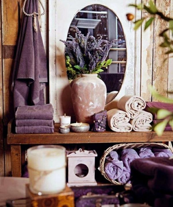 violette tücher unterschiedliche nuancen