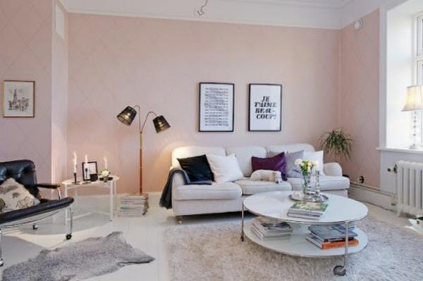 Pastelltone Als Wandfarben Mildern Das Ambiente Zu Hause