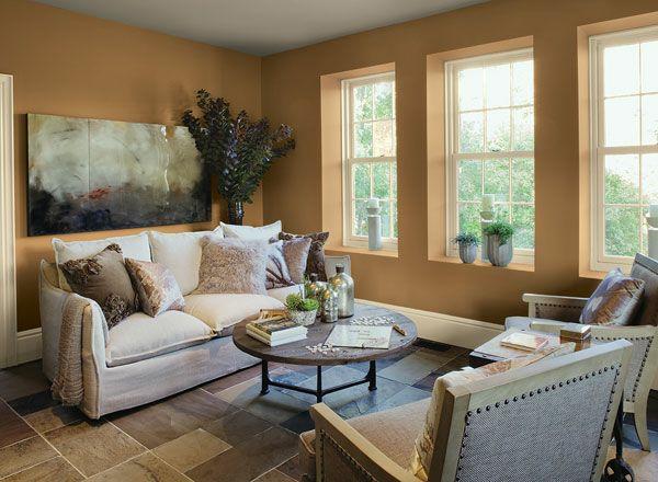 modernes wohnzimmer mit sichtbetonwand und kamin sideboard ...