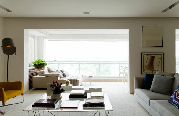 wohnideen panoramafenster im wohnzimmer