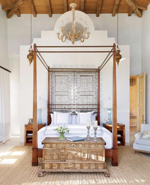 wohnideen schlafzimmer design naturmaterialien