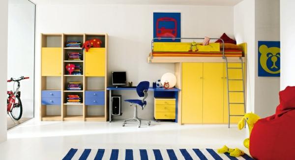 wunderschönes kinderzimmer lustige farben