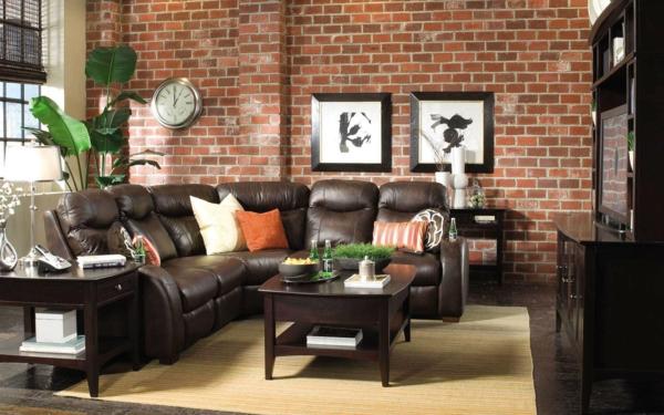Superb Stein Tapeten Erschaffen Ein Komfortables Ambiente In Ihrem Zuhause |  Einrichtungsideen ...