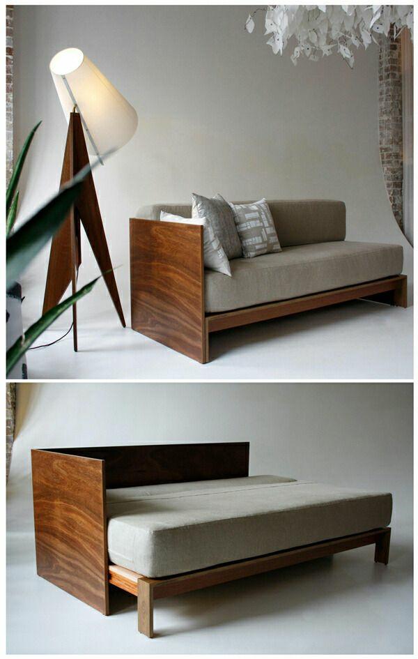 bettsofa mit matratze und bettkasten. Black Bedroom Furniture Sets. Home Design Ideas