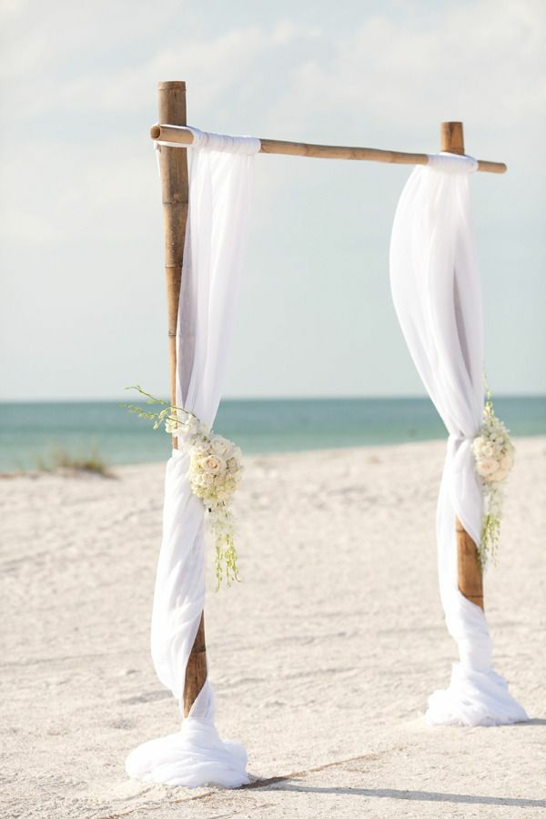 braut Hochzeiten dekoideen bogen spitze weiß