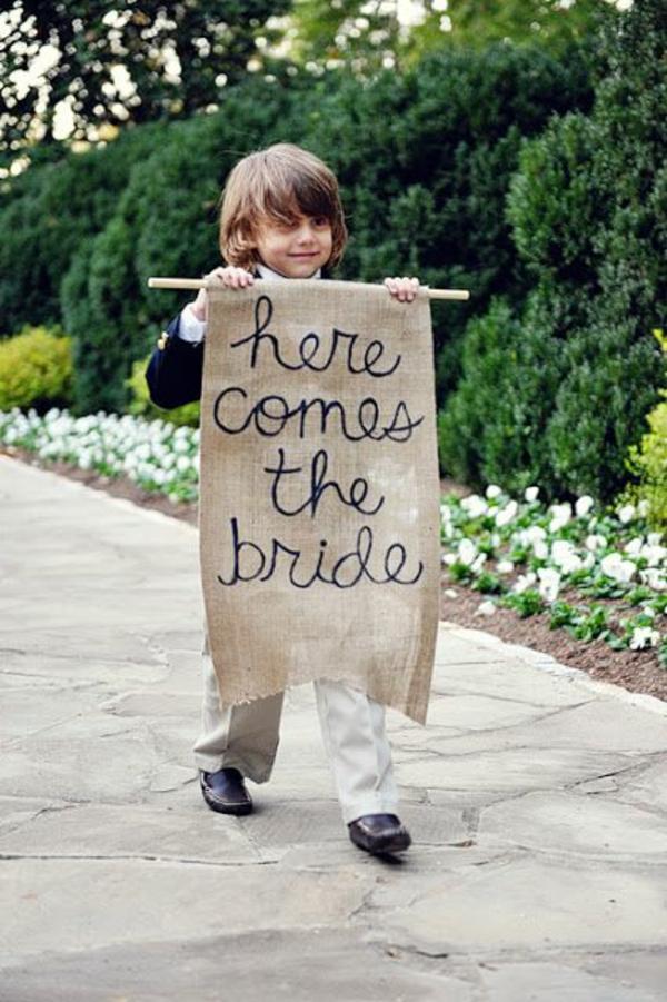 DIY Hochzeiten dekoideen kinder teilnehmen