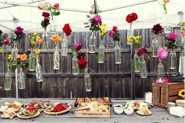60 preiswerte dekoideen f r die perfekte diy hochzeit - Hochzeitsfeier im garten ...