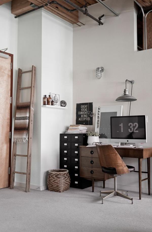 rustikal stil Designer Büromöbel ergonomisch ecke komplettset