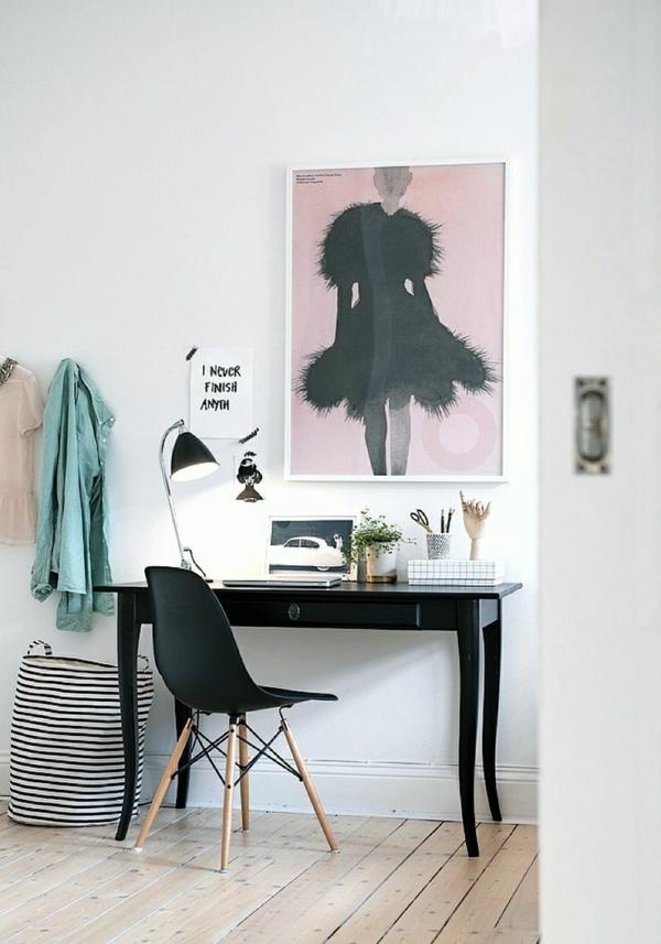 wandgestaltung Designer Büromöbel ergonomisch gebraucht komplettset feminin