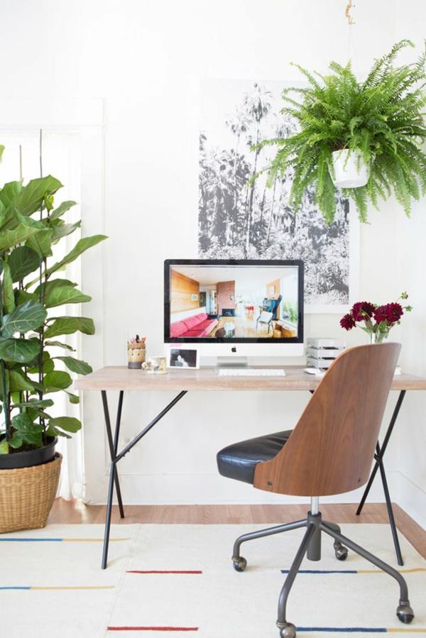 pflanzen Büromöbel ergonomisch gebraucht komplettset natur