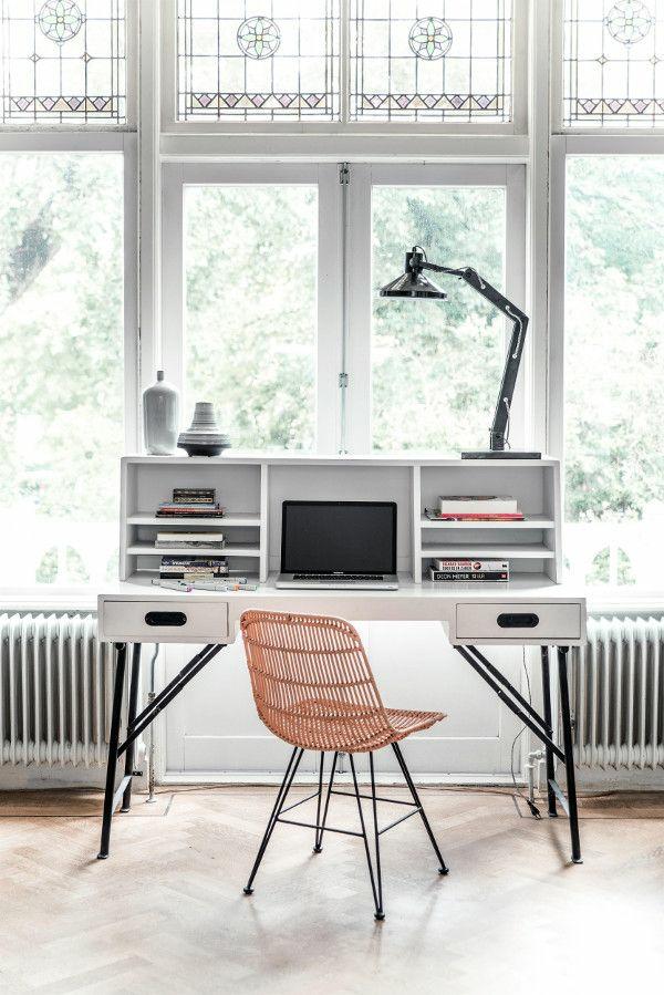 fensterfolie muster Büromöbel ergonomisch komplettset schreibtisch