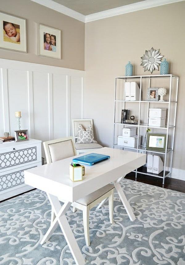 regale Büromöbel ergonomisch komplettset weiß glanz