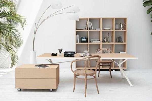 gebogene lampen Büro möbel ergonomisch hell holz komplettset