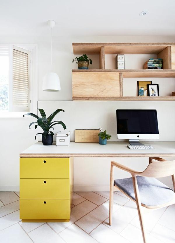 Designer Büromöbel ergonomisch komplettset gelb