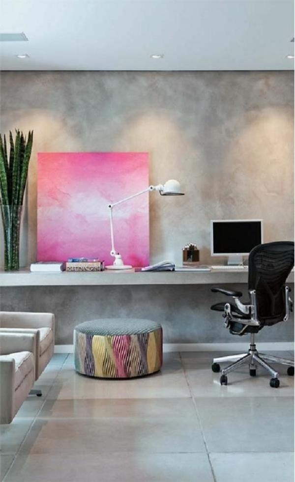 rauch farben Büromöbel ergonomisch rosa komplettset leinwand