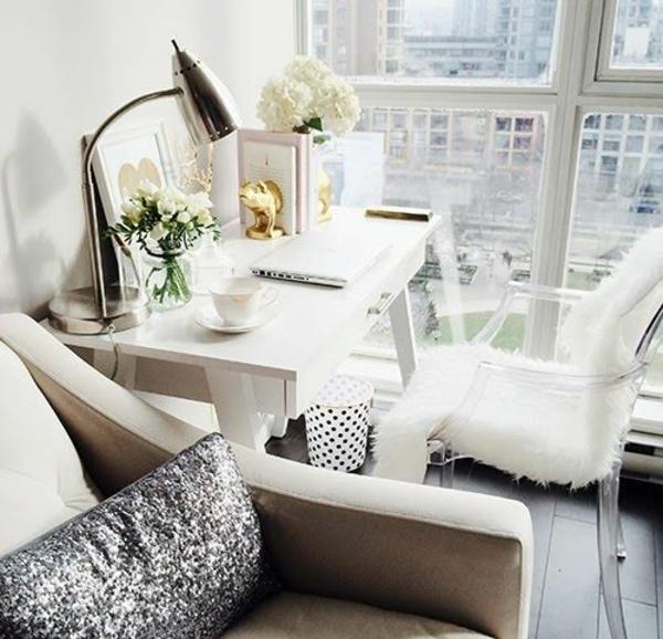Designer Büromöbel ergonomisch weiß komplettset