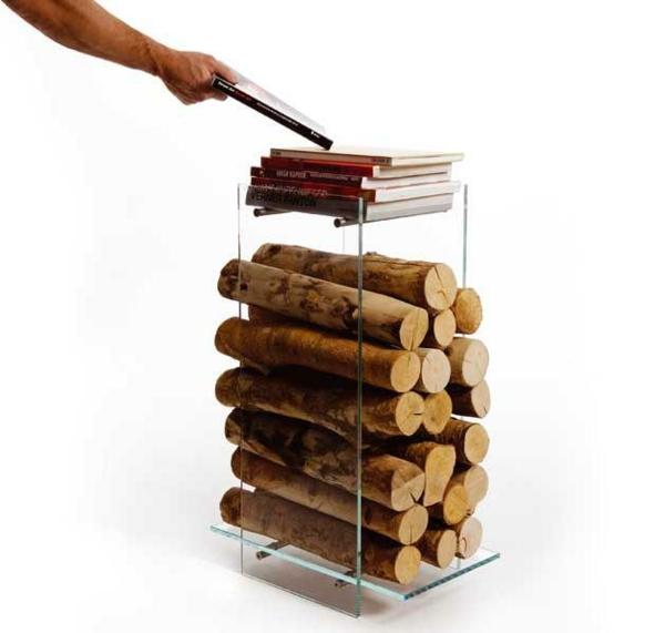 Holzständer Für Kaminholz kreative kaminholz ständer von ak47 design