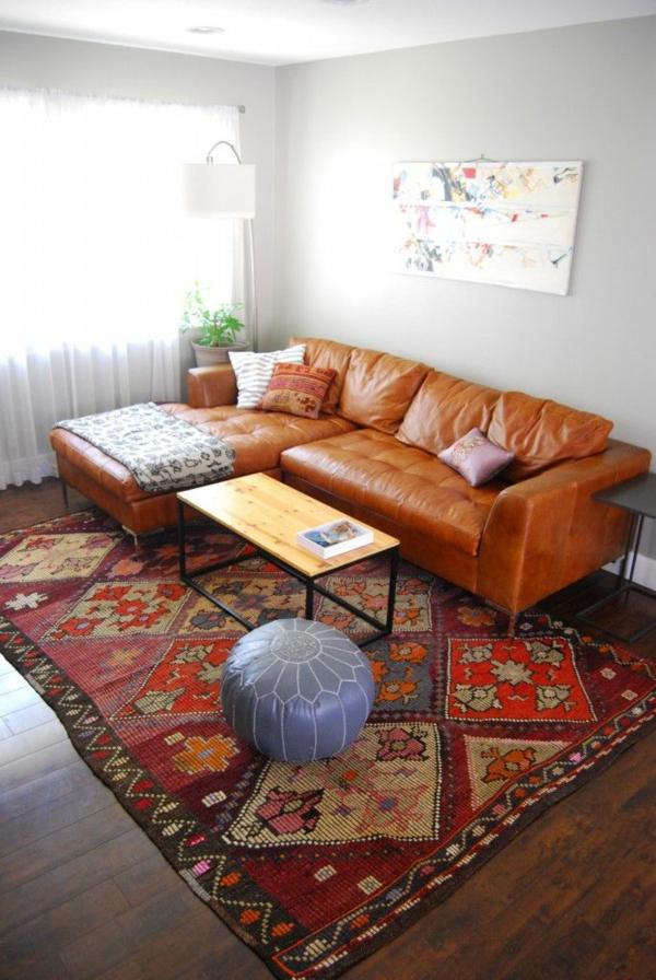 30 ideen f r eckcouch aus leder sofas mit und ohne schlaffunktion. Black Bedroom Furniture Sets. Home Design Ideas
