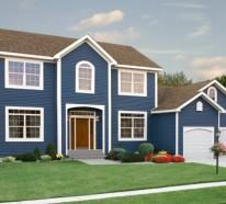 Hausfassaden Ideen fassadengestaltung einfamilienhaus ideen und bilder