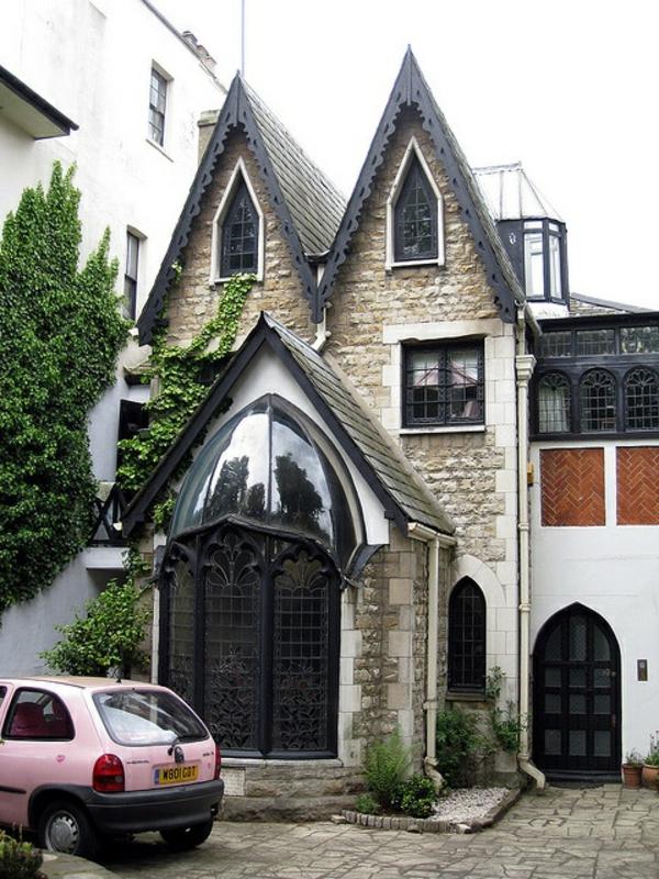 Fassadengestaltung Einfamilienhaus vorgarten gestalten pflanzen gartengestaltung mit steinen