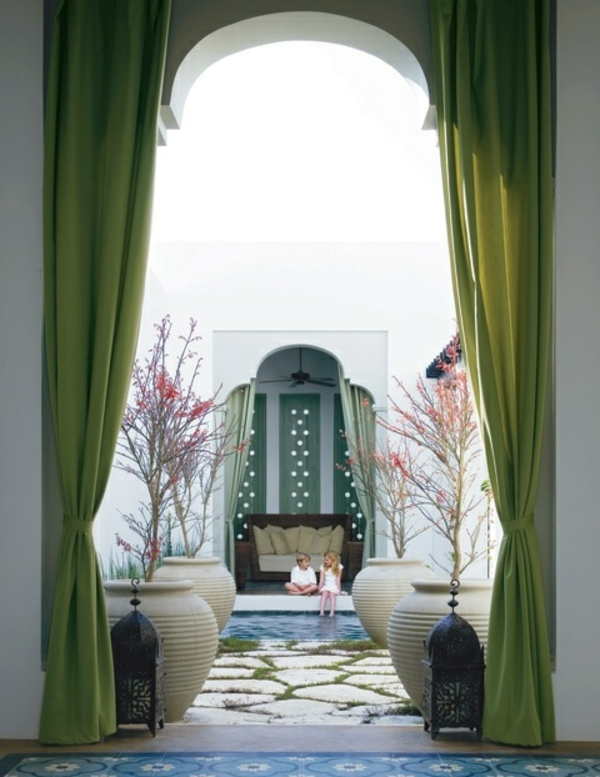Fenster Gardinen Grun : Luxus kann man mit nur einigen Dekoartikel erschaffen
