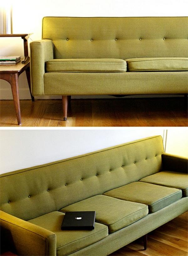 Grüne Sofas ausziehbett sitzplatz