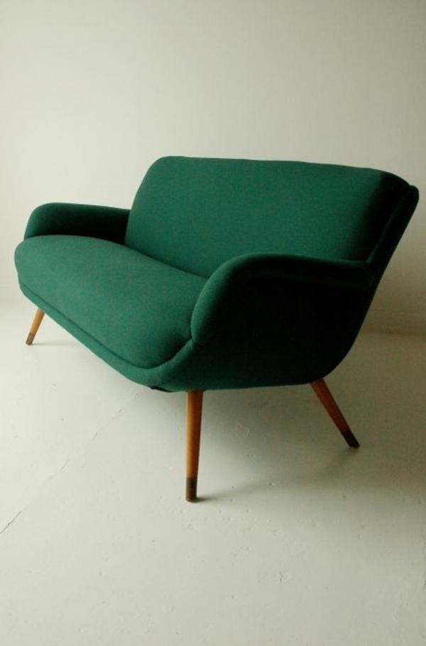 Vintage wohnzimmer grun  66 Grüne Sofas in verschiedenen Formen und Designs