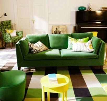 Schlafsofa jugendzimmer grün  66 Grüne Sofas in verschiedenen Formen und Designs