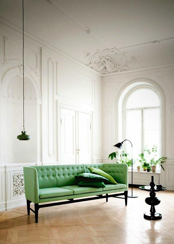Grüne beistelltisch Sofas hängelampen wand