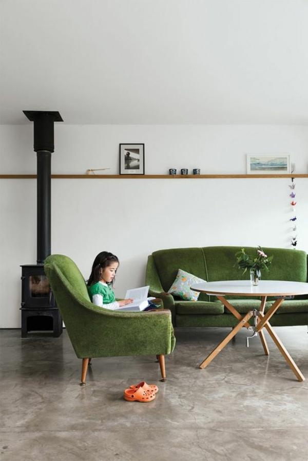 Sofa Und Sessel Beistelltisch Wohnzimmer Kompletteinrichtung In Lila