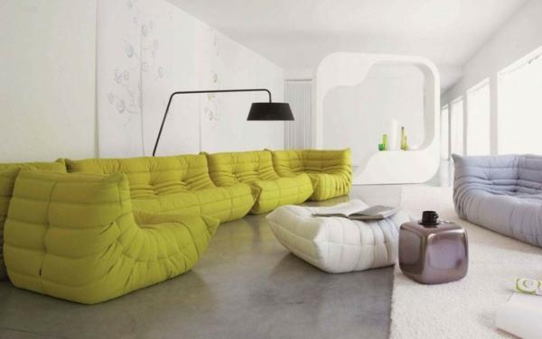 Grüne contemporary Sofas stehlampe weiß