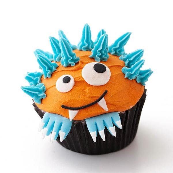 Grusel Muffins backen halloween gebäck cupcakes kuchen deko ideen
