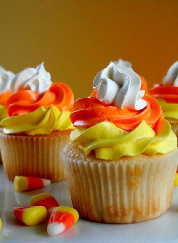 Grusel Muffins halloween gebäck Halloween nachtisch farben