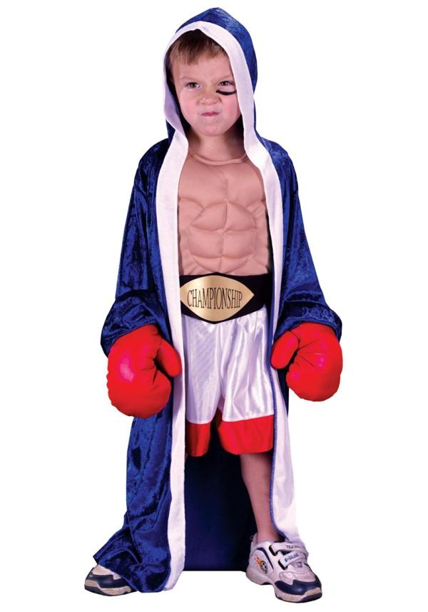 Halloween Ideen  Kostüm boxer