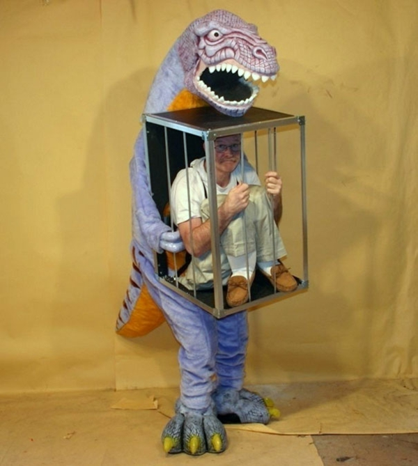 Halloween Dinosaurier Kostüm Ideen originell