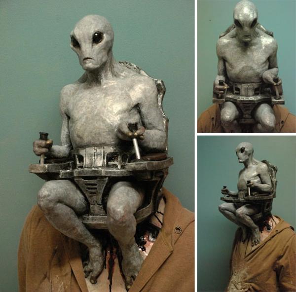 Halloween außerirdische Kostüm Ideen ufo