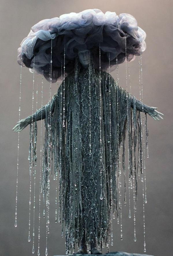 Halloween Kostüm Ideen wolken regen
