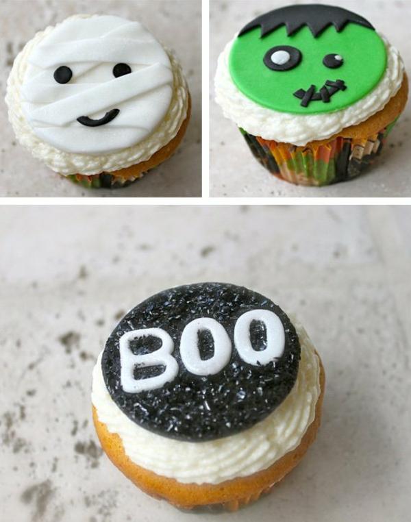 Halloween Party Rezepte halloween gebäck Grusel Muffins halloween nachtisch
