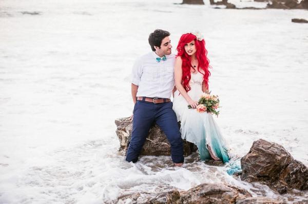Hochzeitsdekoration Ideen im Stil Arielle die Meerjungfrau  Coole ...