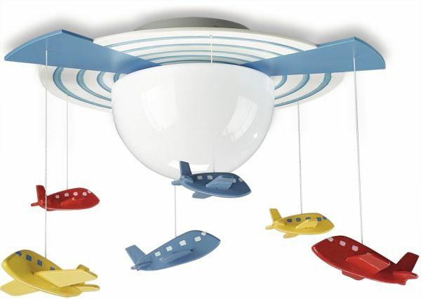 kinderzimmer deckenleuchte - auffallende lampen und lichterketten - Designer Lampen Im Kinderzimmer