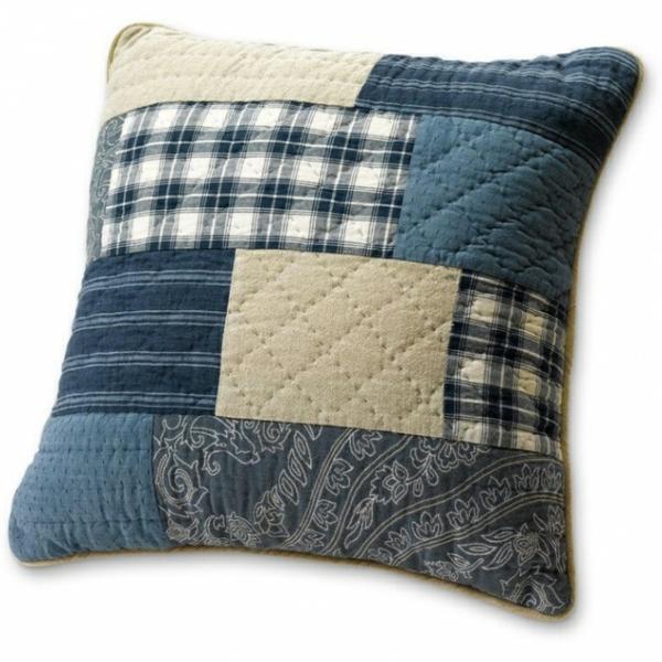 kissenbezüge Kissenhüllen Jeans patchwork