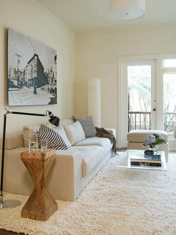 Moderne trendy Wohnzimmermöbel beistelltisch holz
