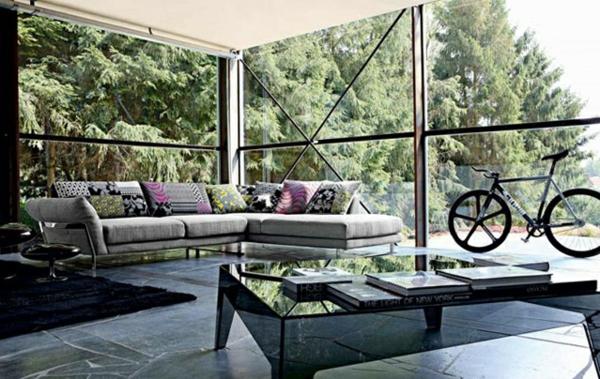 Wohnzimmermöbel fahrrad grün umgebung natur