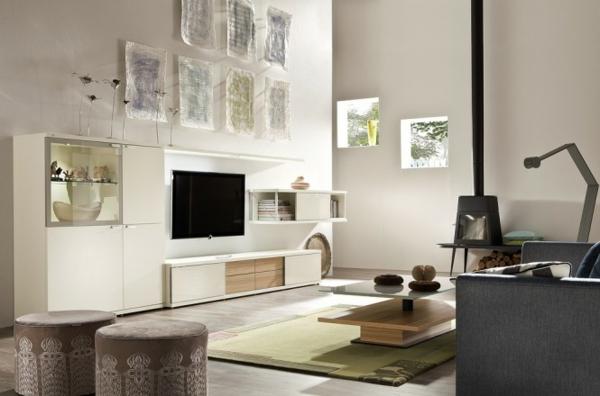 Moderne hocker Wohnzimmermöbel fernseher