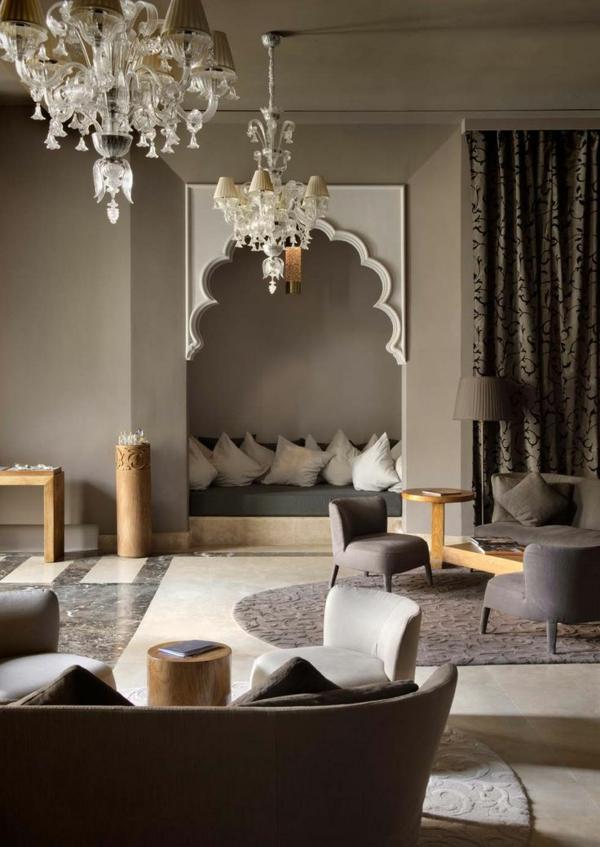 Moderne Wohnzimmermöbel klassisch linien