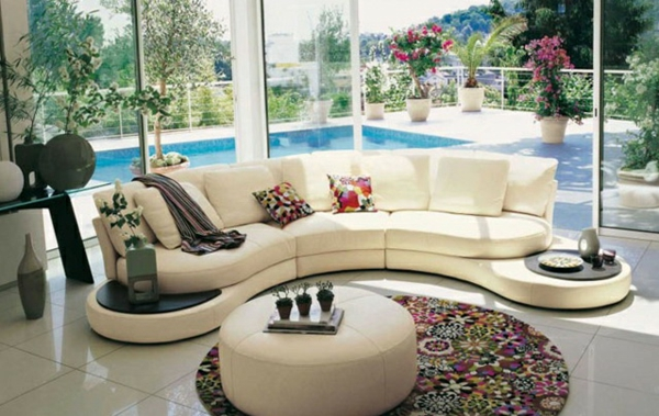 Moderne Wohnzimmermöbel offen raum design