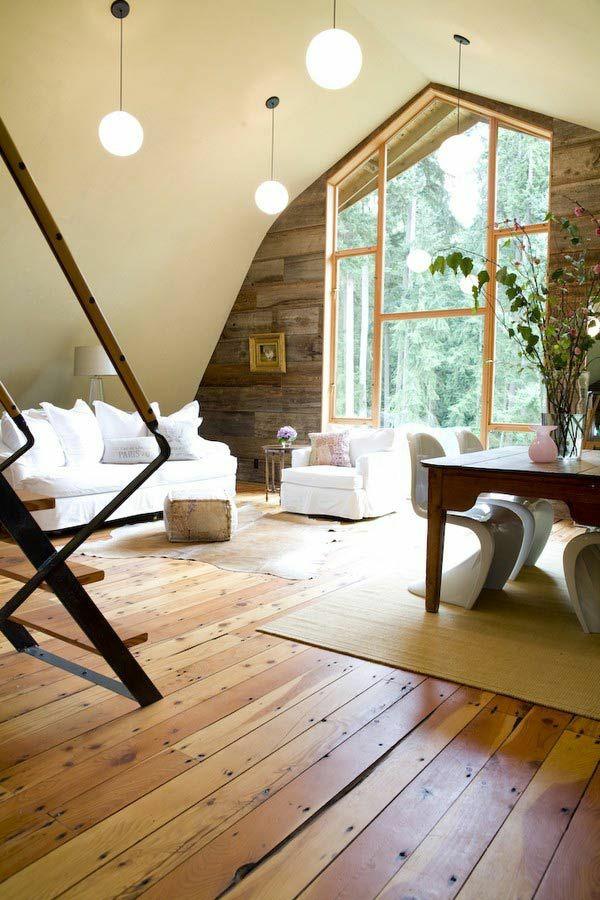Moderne holz wand  Wohnzimmermöbel rund kronleuchter