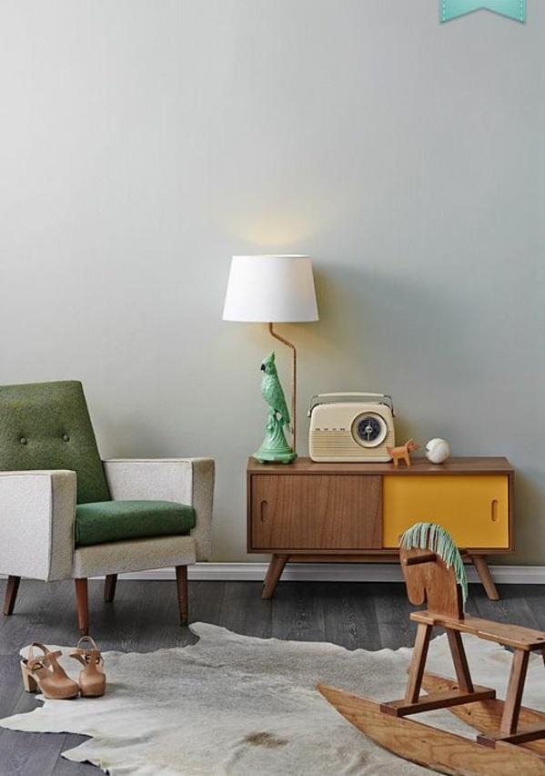 Moderne Wohnzimmermöbel schaukelpferd