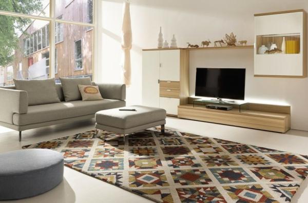 Moderne Wohnzimmermöbel sofas grau